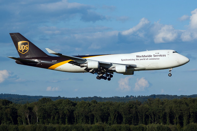 N575UP - United Parcel Service (UPS) - Boeing 747-44AF