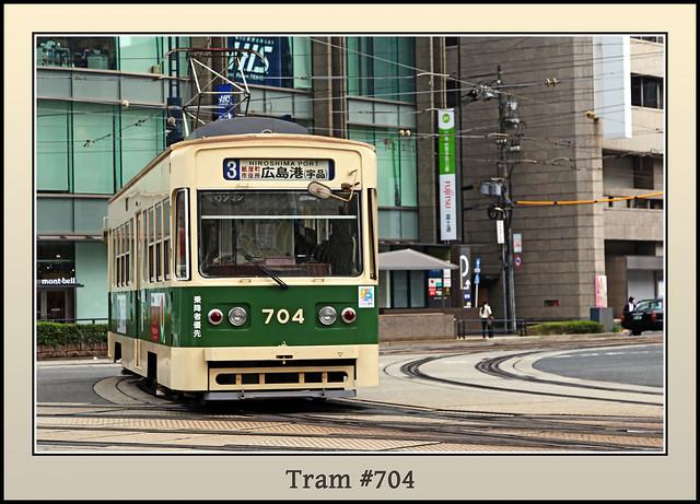 Tram # 704, Hiroshima