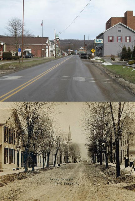 Now and Then @ East Brady, PA