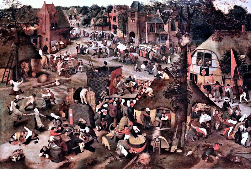 IMG_2527A Pieter Brueghel II 1565 1638. Antwerp.