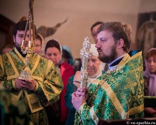 Литургия в храме Сергия Радонежского 200