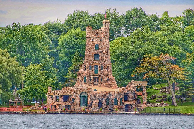 Boldt Castle ~ Historical Building ~ Alster Tower ~ Alexandria Bay Ny ~ 1000 Islands