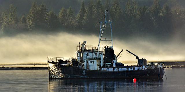ghost ship . . .
