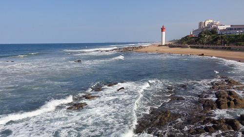 durban southafrica south africa sea ocean lighthouse kwazulunatal umhlangalighthouse umhlanga water