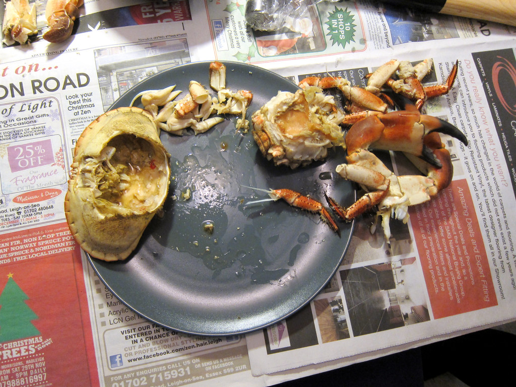 Crab | Christmas Eve seafood dinner at ...