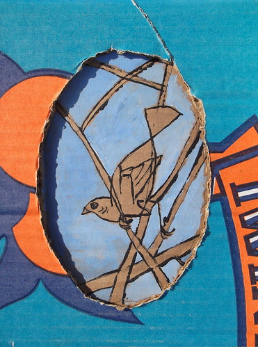 cardboard bird 2 | by stephenbrunelli