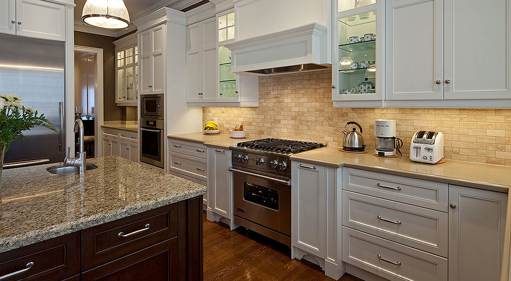 Backsplash Ideas for White Cabinets | #KitchenBacksplash ...