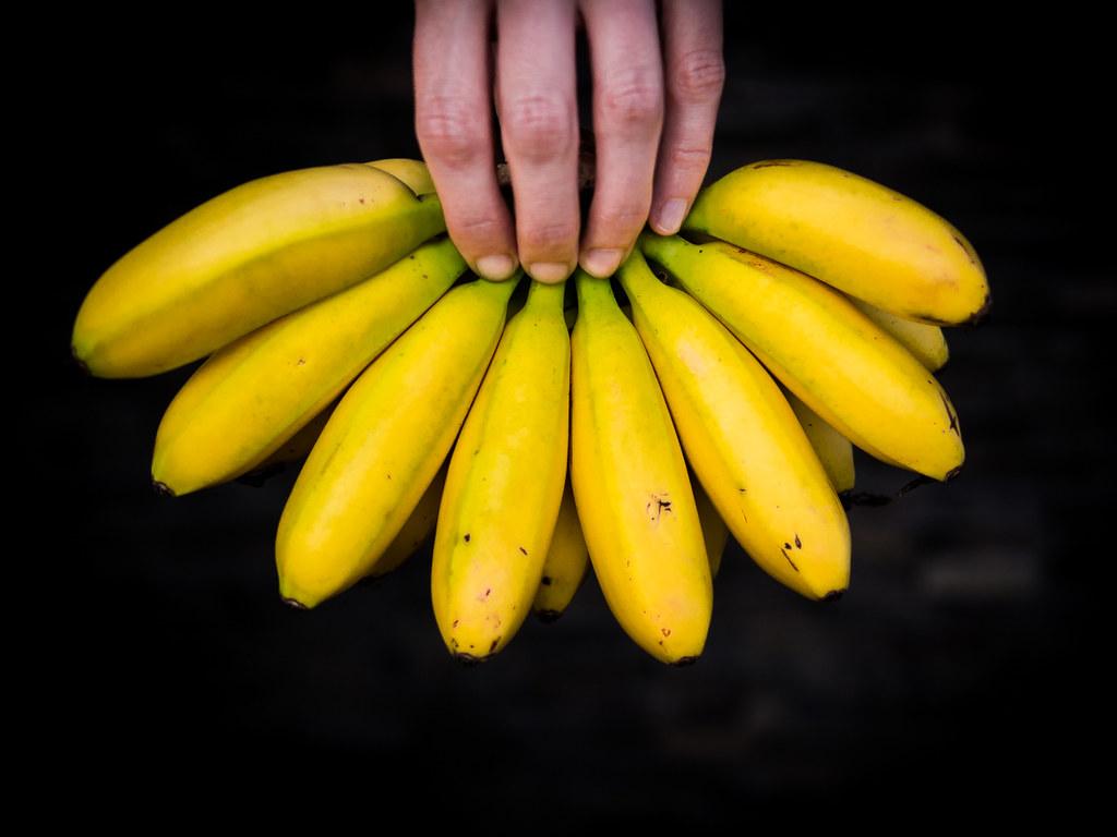 Banana fingers | Miha Pavlin | Flickr