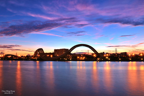 南科迎曦湖 sunset
