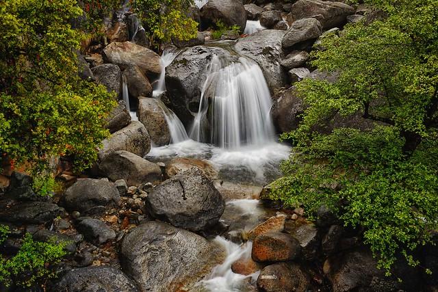 A Tiny Waterfall in Yosemite