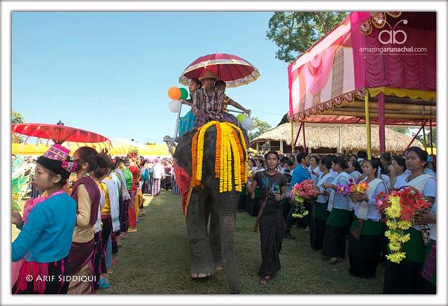 Poi Pee Mau - Tai Khampti New Year 2014