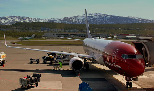 NORWEIGIAN AIRLINES BOEING 737-800 LN-NOR AT TROMSO  NORWAY JUNE 2014 | by STEPHEN J MASON PHOTOGRAPHY