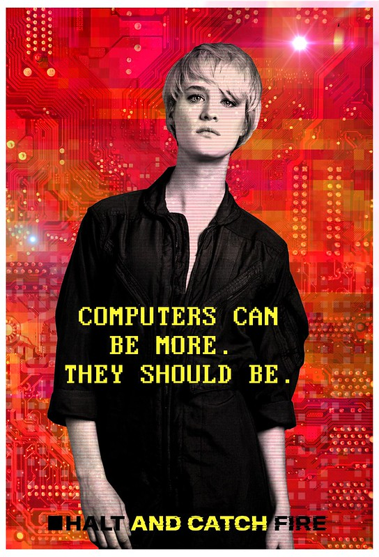 Halt And Catch Fire Cameron Poster