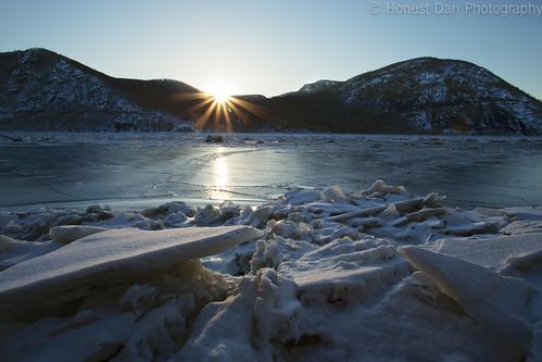 sunset storm cold ice canon neck landscape frozen king brake beacon hdr 6d 2015