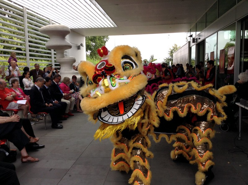 Lion Dance - Chinese Lunar New Year 2015 at Upper Riccarton Library
