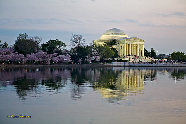 Dusk at the Jefferson Memorial
