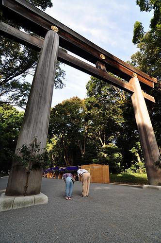 myōjin torii   by eeshawn.