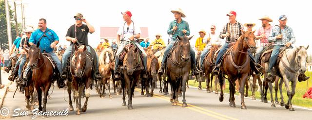 Saltwater Cowboys on Parade