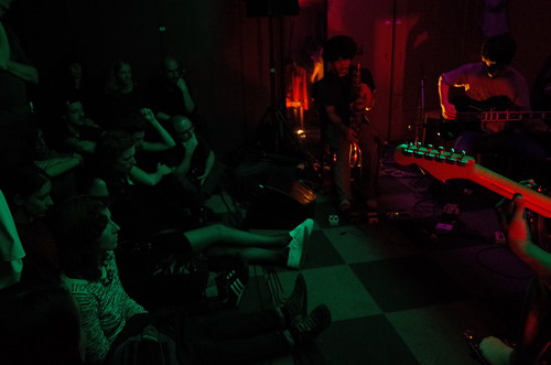 captivated audience at Goat concert @ Vrooom Rotterdam