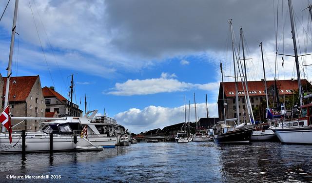 nei canali di Copenhagen