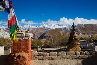 From the roof of Choprang Gompa | by jmhullot