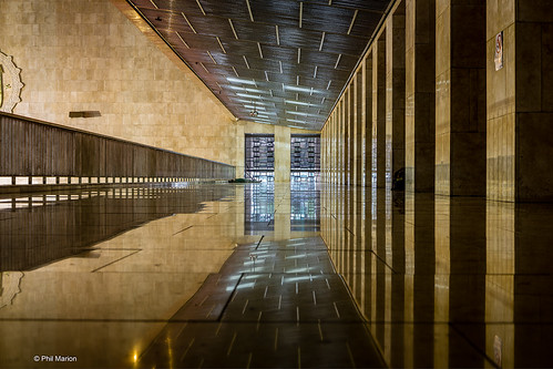 Istiqlal Mosque or Masjid Istiqlal marble interior - Jakarta, Indonesia | by Phil Marion (187 million views - THANKS)