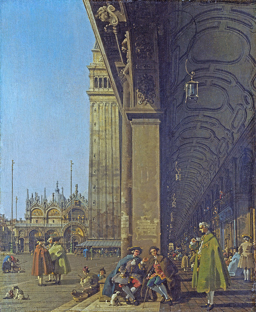 Venice: The Piazza San Marco   [about 1756]