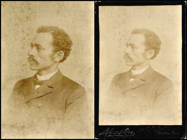 1880s photo of Rev. Benjamin A. Imes, Memphis, Tennessee