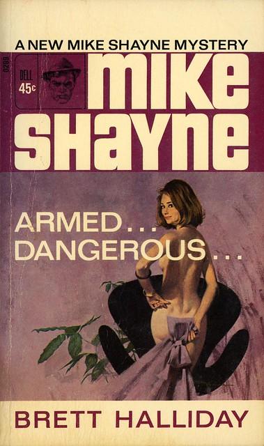 Dell Books 0299 - Brett Halliday - Armed... Dangerous...