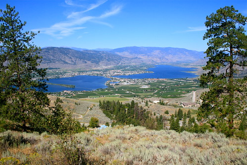 Overlooking Osoyoos | by Setting Sun to Rising Sun