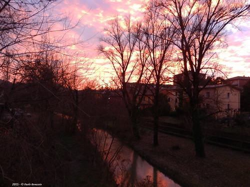 sunset sky italy tramonto cielo torrent emiliaromagna zolapredosa torrenti torrentelavino