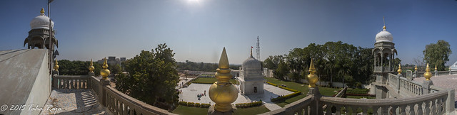 Panorama of Taherabad, Taherabad, Goliyakot, Rajasthan, India - Filename: XR6A1068 Panorama - f/22 ISO 200