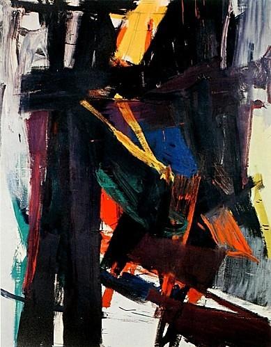 Kline, Franz (1910-1962) - 1958 King Oliver (Christie's New York, 2014)