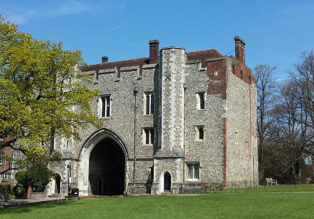 Old monestry gateway