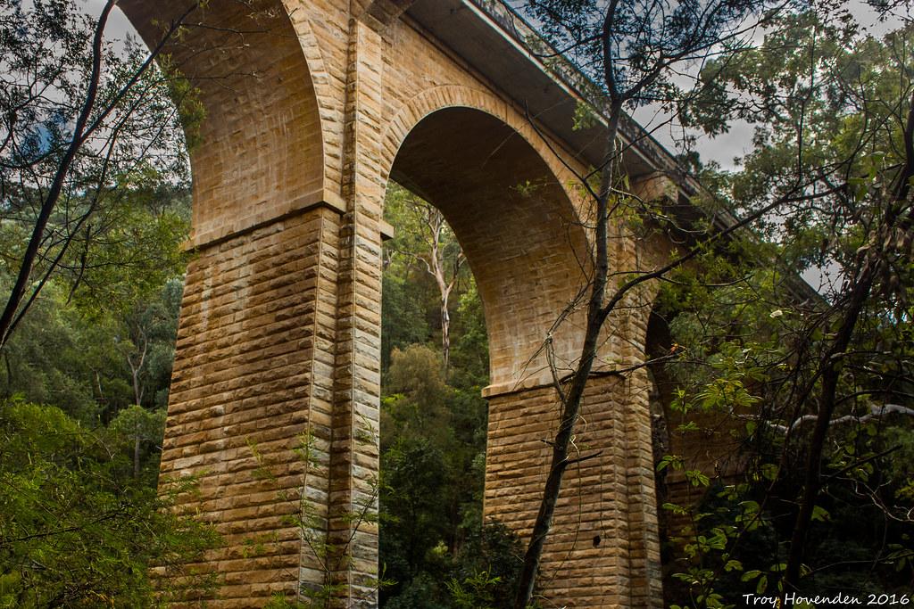 Knapsack Bridge, Lapstone, NSW.
