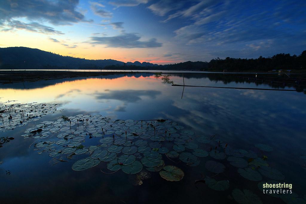 Lake Sebu Sunset Colors