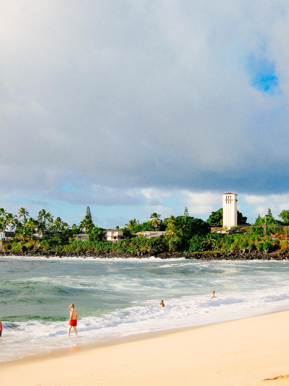 Waimea Beach in Hawaii