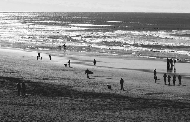 Ocean Beach, San Francisco; January 1, 2015
