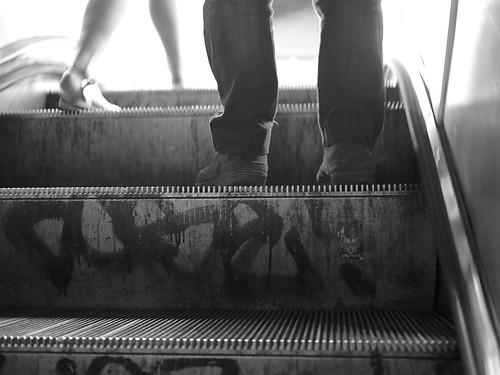 Escalator   by Fred Azarty