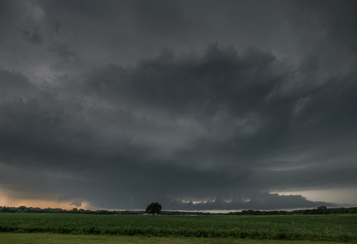supercell wallcloud