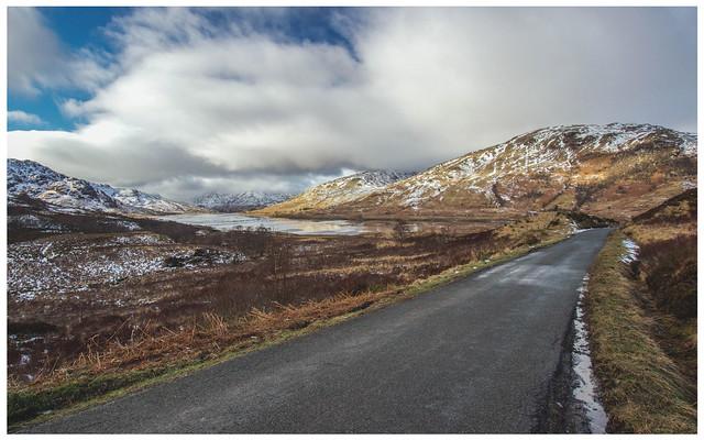 Road & Loch Arklet