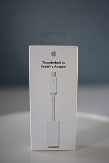 Apple Thunderbolt to FireWire Adapter   by Kazuhiro Keino