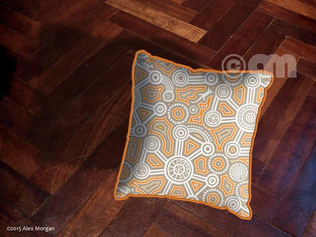 City Dreaming.cushion