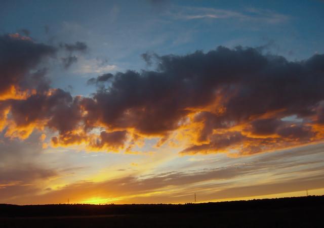 coucher de soleil dans Charlevoix