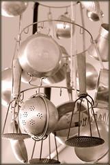 hanging vintage kitchentools
