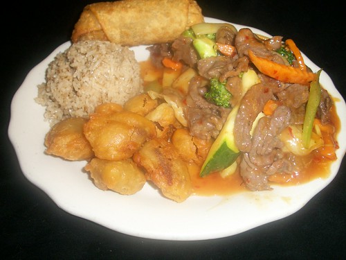 C3 Peking Beef and Sweet & Sour Pork | by Golden Gate Chinese Restaurant