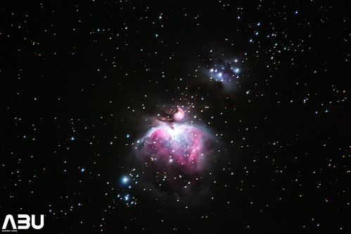 Orion Nebula (M42) and The running man nebula