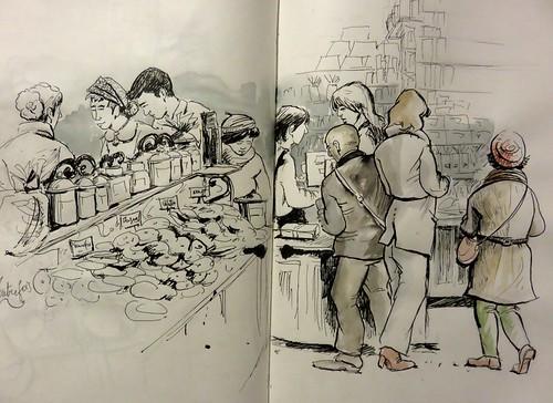 46e sketchcrawl 2015 01 31  007 (Copier) | by Marie France B