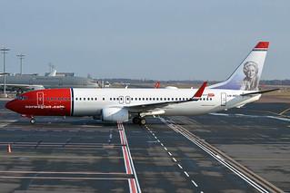 Norwegian (Wenche Foss livery), LN-NGI, Boeing 737-8JP | by Anna Zvereva