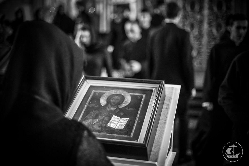 23 февраля 2015, Понедельник Первой седмицы Великого поста. Утро / 23 February 2015, Monday of the 1st Week of Great Lent. Morning